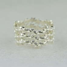 Star Cluster Stacking Rings