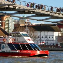 Thames Sightseeing Cruise and The London Eye for Two