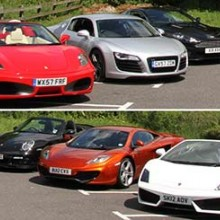 On Road Supercar Driving Day
