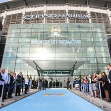 Legends Tour of Manchester City FC's Etihad Stadium