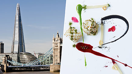 The View from The Shard and Three-Course Michelin Lunch for Two