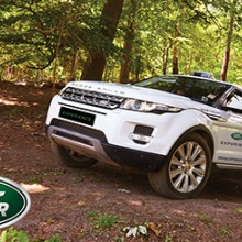 30 Minute Junior Off Road Range Rover Driving