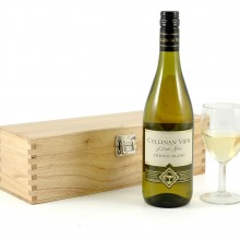 White Wine in Wooden Box -