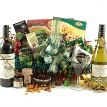 Luxury Christmas Wine Hamper - Christmas Hampers