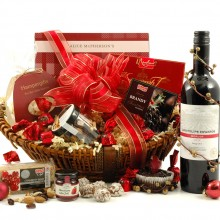Deluxe Christmas Ruby - Christmas Hampers