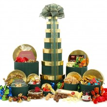Christmas Treats Tower - Christmas Hampers