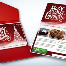 Red Letter Days Merry Christmas Gift Card (£30)