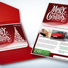 Red Letter Days Merry Christmas Gift Card (£100)