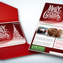 Red Letter Days Merry Christmas Gift Card (£75)
