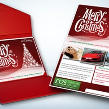 Red Letter Days Merry Christmas Gift Card (£125)