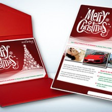 Red Letter Days Merry Christmas Gift Card (£20)
