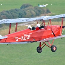 Dambusters Tiger Moth Flying Experience