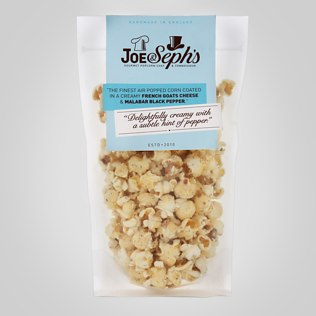 Joe & Seph's Gourmet Popcorn (Goat's Cheese & Black Pepper)