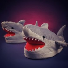 Chomping Shark Slippers