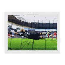 Joe Hart Signed Photo: Spectacular Save