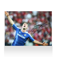 Gary Cahill Signed Chelsea Photo