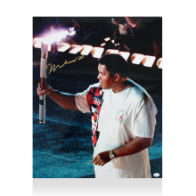 Muhammad Ali Signed Photo: Olympic Torchbearer