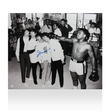 Muhammad Ali Signed Photo: Knocking Out The Beatles