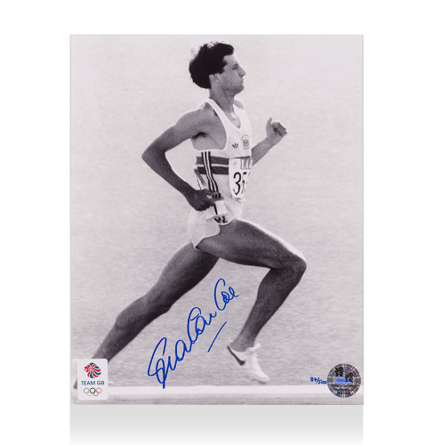 Lord Sebastian Coe Signed Photo: Perfect Stride