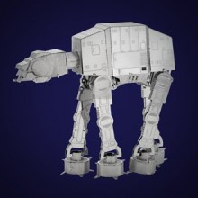 Star Wars 3D Metal Model Kits (AT-AT)