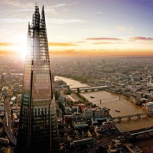 The View from The Shard with Champagne and Boutique Escape for Two