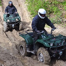Quad Biking and 4x4 Adventure