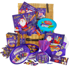 Christmas Chocolate Magic Basket