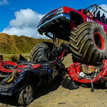 Monster Truck Ride and 4x4 Hot Ride