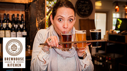 Beer Tasting Masterclass for Two at Brewhouse and Kitchen