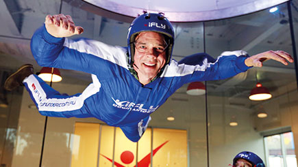 Introductory Indoor Skydiving for Two