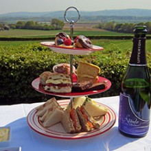 Afternoon Tea and Vineyard Tour for Two