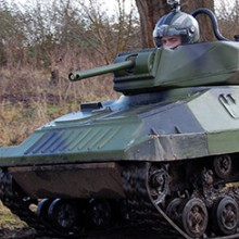 Mini Tank Driving Experience for up to Eight
