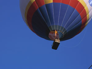 Hot Air Balloon Flights and Rides Christmas Present